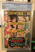 Showcase 75 Cbcs R 4.5, 1st Appearance Of Hawk And Dove