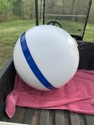Taylor Made 46374 T3c Sur-moor 24 D White/blue Mooring Buoy