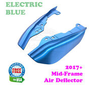 Electric Blue Mid-frame Air Deflector For 2017+ Harley Touring Electra Glide