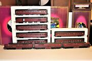 Outstanding Mth O Scale Premier Lehigh Valley Alco Pa Aba And 7 Car Set Ps1 Tested