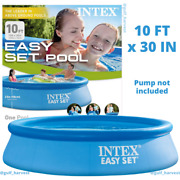 Intex 10'x30 Easy Set Round Inflatable Above Ground Pool, Pool Only New/sealed