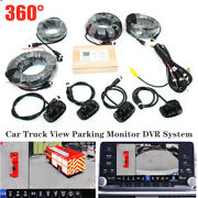 Dc9-36v Car Truck 360° View Parking Monitor Dvr System Panoramic Video Camera