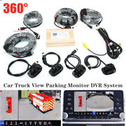 Dc9-36v Car Truck 360anddeg View Parking Monitor Dvr System Panoramic Video Camera