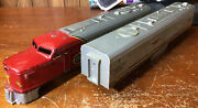 American Flyer Trains 360-361 Santa Fe Diesel A And B-unit - Shell Only Used