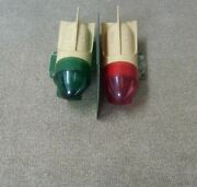 Delta Boat Lights Vintage Red And Green Boat Lights And Frame As Is Not Working