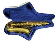 Vintage Cir 1959 Martin Elkhart The Indiana Saxophone W/case From Estate