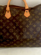 Authentic Louis Vuittons Made In France Monogram Speedy 40 Sp 8902 Xl
