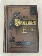1881 1st Ed. Old Wild West Guide Pioneer Emigrant Travel Indians Railroad Maps