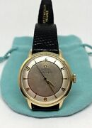 1944 Omega And Co 14k Solid Gold Bumper Automatic Watch