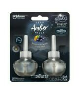 Glade Plugins Deep Amber Hills Limited Edition Scented Oil Refills- 14 Refills