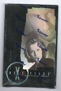 The X-files Season 4 And 5 Trading Card Hobby Box Inkworks 2001 Brand New