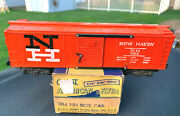 American Flyer 984 New Haven Rr Boxcar, Superb Quality Collector Car...with Ob
