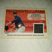 Tommy Romero 2009 Topps Pro Debut Fragments Of The Farm Relic Fof-bgr Hot Rods