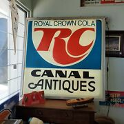 Lighted Rc Cola Sign