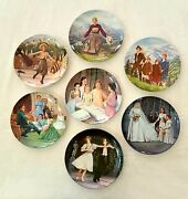 The Sound Of Music Collector Plates Set Of 7 Artist T. Crnkovich Manuf...