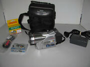 Panasonic Nv-gs70 Mini Dv Camcorder And Case Made In Japan Fully Tested And Working