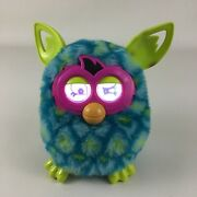 Furby Boom Interactive Toy Pet Hasbro 2012 Blue Yellow With Batteries Tested