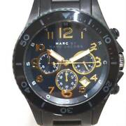 Marc By Marc Jacobs Mbm8590 Chronograph Quartz Watch Black Used From Japan