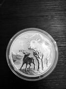 2021 Australia Lunar Series Iii Year Of The Ox 5 Oz Silver Coin Bu