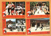 Set Of 9 The Dragon Fist {jackie Chan} Chinese Kung Fu Lobby Cards /photos 70s