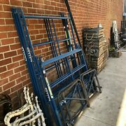 Scaffolding Frames And Parts As Is. Pick Up Only Culver City 90232.