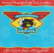 Mickeyand039s Magical World Tour Overture W/ Front Artwork Music Audio Cd Disney Fest