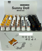 Ghost Kitty Cat Pens - Cute Adorable Gifts For Kids Office School