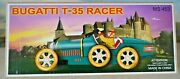 Schylling Bugatti T-35 Racer Tinplate Clockwork Car New And Boxed Ms 453 17