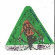 Guns N Roses Band Signed Autographed Tour Pass Amco 14856