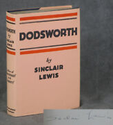 Sinclair Lewis / Dodsworth Signed 1st Edition 1929