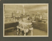 N/a / Old Photograph 1890s From Grocery Store In Parkersburg Wv