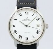 Universal Geneve Polerouter Original Dial Automatic Vintage 1960and039s