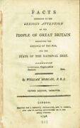 William Morgan / Facts Addressed To The Serious Attention Of The People Of Great