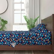 Space Little Smile Makers Fantasy 100 Cotton Sateen Sheet Set By Roostery