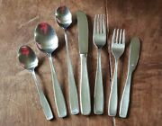 Lot Of 87 Pcs Wmffraziergermany Line Stainless Steel Flatware Service For 8 +