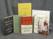 Edward Albee / Items From The Estate Of Rudolph Stanish 1913-2008 Celebrity Chef