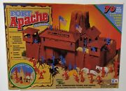 1995 Toy Street - The Original Fort Apache Western Playset - Complete - Made Usa