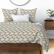 Paul Bunyan Babe Bikes Babe Blue Ox Sateen Duvet Cover By Roostery