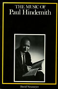 Eric T Chafe / Music Of Paul Hindemith Composers Of The Twentieth Century 1st Ed