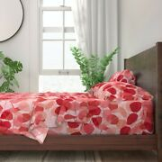 Fall Autumn Lunaria Railroaded 100 Cotton Sateen Sheet Set By Roostery