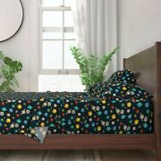Solar System Kids School Education 100 Cotton Sateen Sheet Set By Roostery