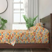 Merry Go Round Kids Carnival Circus 100 Cotton Sateen Sheet Set By Roostery