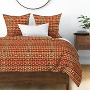 Navaho Rug Carpet Native American American Indian Sateen Duvet Cover By Roostery