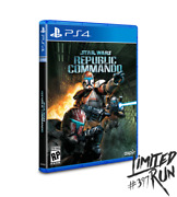 Sold Out Preorder Limited Run 103 Star Wars Republic Commando Ps4