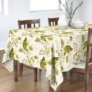 Tablecloth Carnivorous Plant Botanical Venus Flytrap Sundew Cotton Sateen