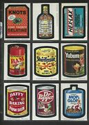 Wacky Packages 1974 Series 8 Complete Set 30 Of 30 Nm/nmmt+ Beautiful Set