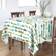 Tablecloth Car Truck Train Boys Vehicles Helicopter Boat Cotton Sateen