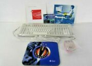 Sun Microsystems Foxboro Type 5c Keyboard And 3button Mouse Set 595-2686-11 X3540