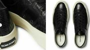 Tom Ford Cambridge Lizard Eidechse Sneakers Shoes Shoe Trainers 44+