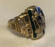 Vintage 1954 South Side High School Fort Wayne Indiana 10k Gold Class Ring